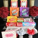 Movie Date Night Candy Bar plus Free Printables