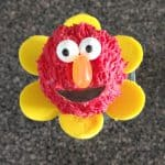 Elmo Flower Cake Pops Tutorial