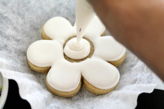 Funky Flower Cookies