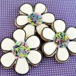 Funky Flower Cookies Tutorial