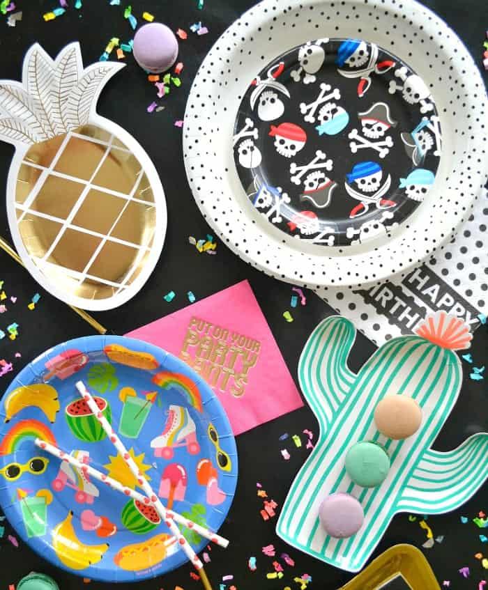 Pretty Paper Party Plates