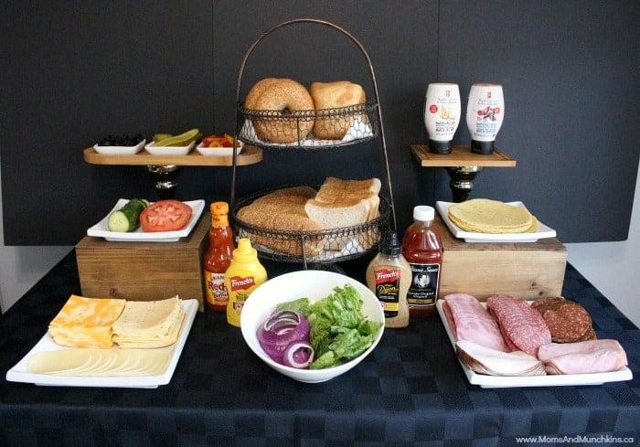 Gourmet Sandwich Bar Ideas Moms Amp Munchkins