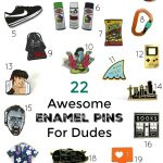 22 Awesome Enamel Pins for Dudes