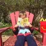McDonald's Book or Toy Program