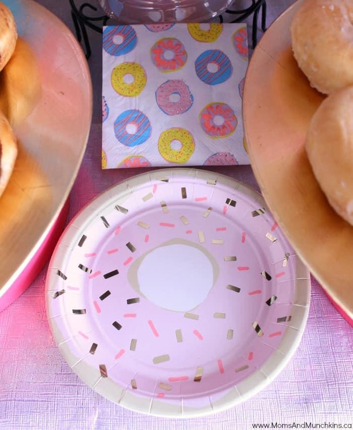 Donut Slumber Party
