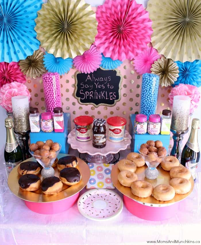 Donut Party Dessert Table Ideas Moms Amp Munchkins