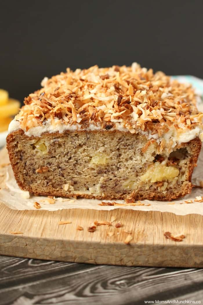 Tropical Banana Bread Recipe