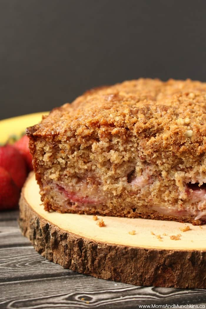 Strawberry Banana Bread Recipe Moms Amp Munchkins