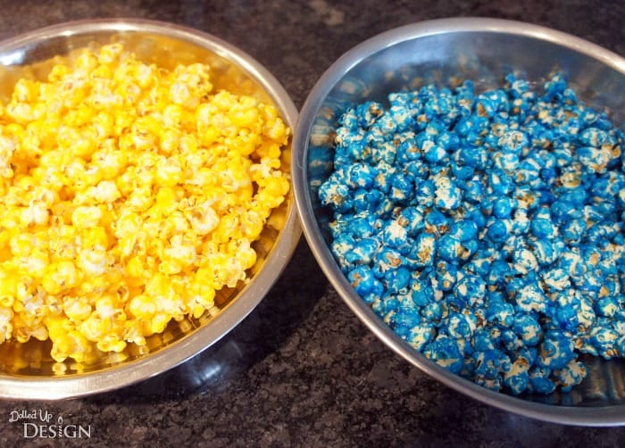 Minions Party Popcorn