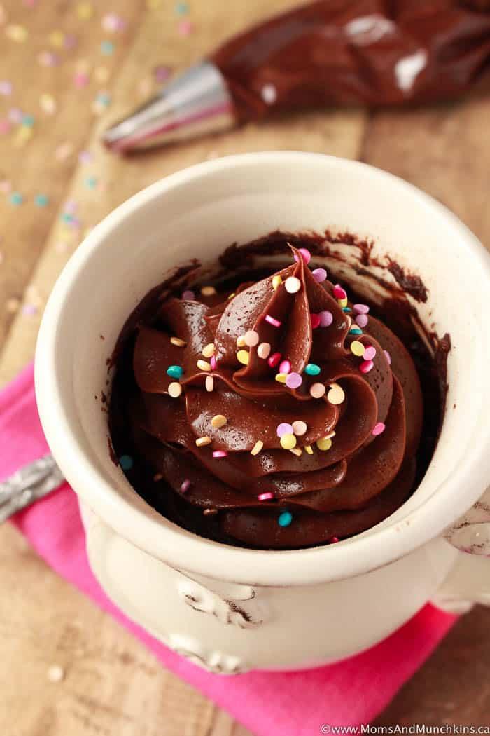 Double Chocolate Mug Cake Recipe