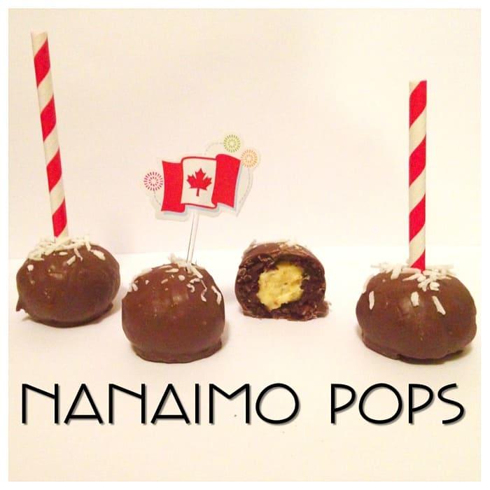 Nanaimo Cake Pops