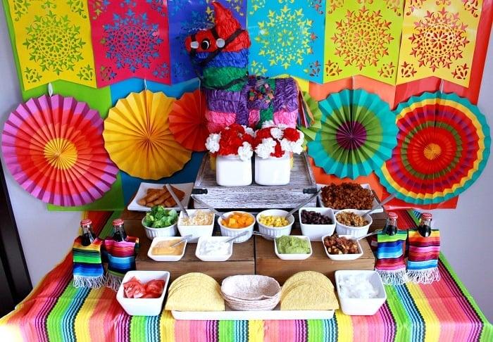 Taco Bar Ideas