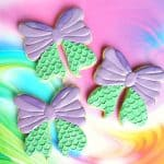 Mermaid Tail Cookies Decorating Tutorial