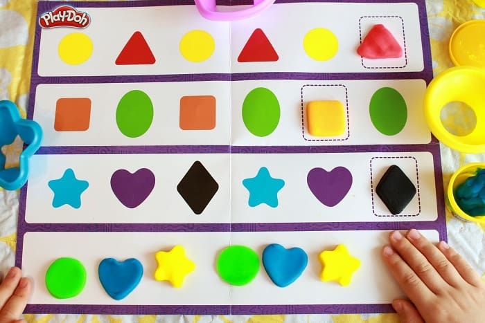 Play-Doh Learning Activities