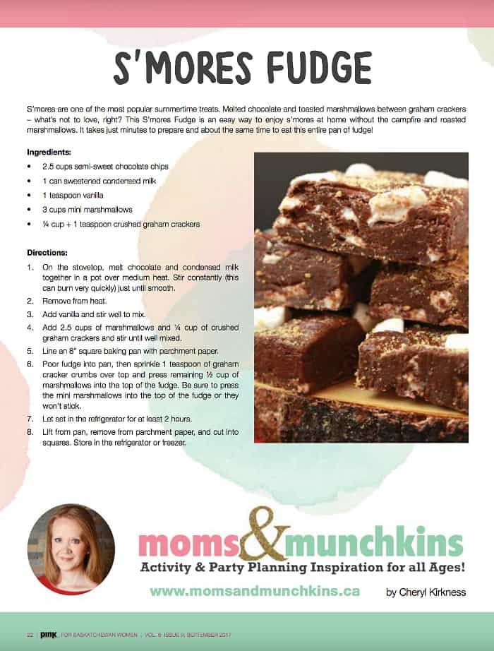S'mores Fudge Recipe