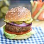 Cheddar Smokey Turkey Lentil Burgers