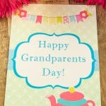 Free Printable Grandparents Day Card