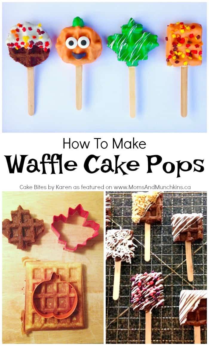 Waffle Cake Pops
