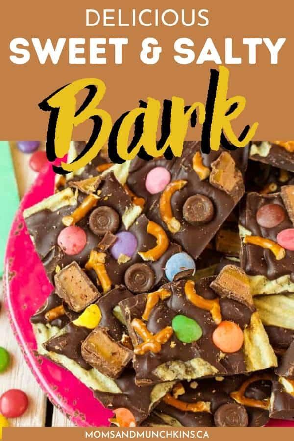 sweet & salty bark treat