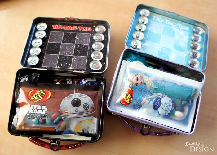 Tic Tac Toe Travel Tins