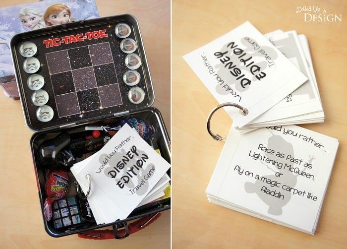 Tic-Tac-Toe Travel Tins