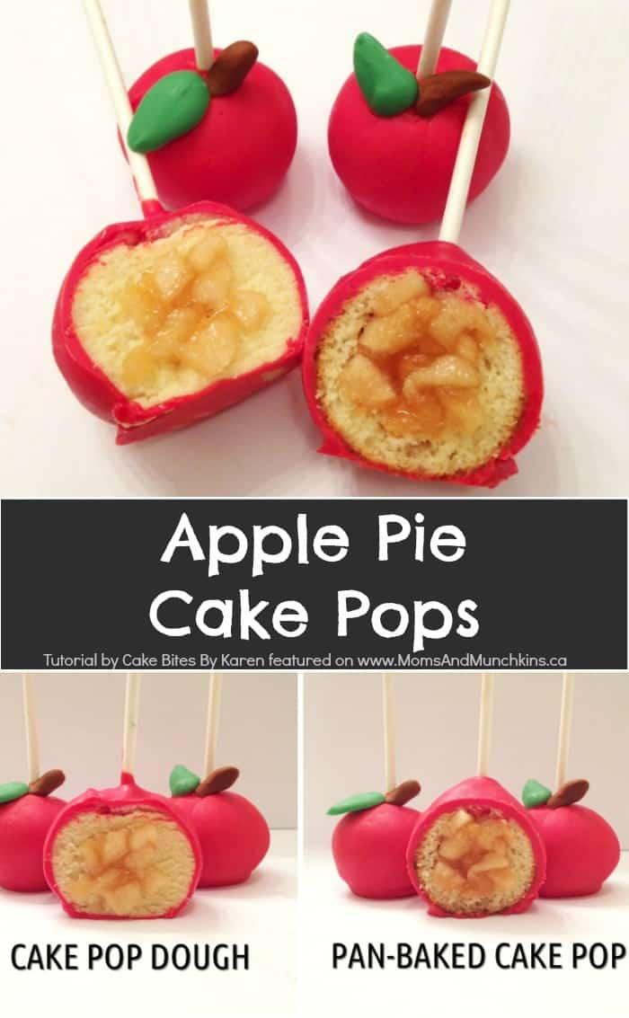 Apple Pie Cake Pops
