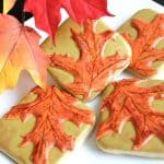Autumn Leaves Cookies Decorating Tutorial
