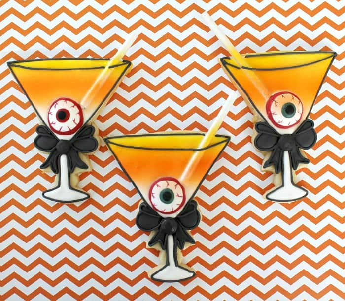 Halloween Martini Cookies