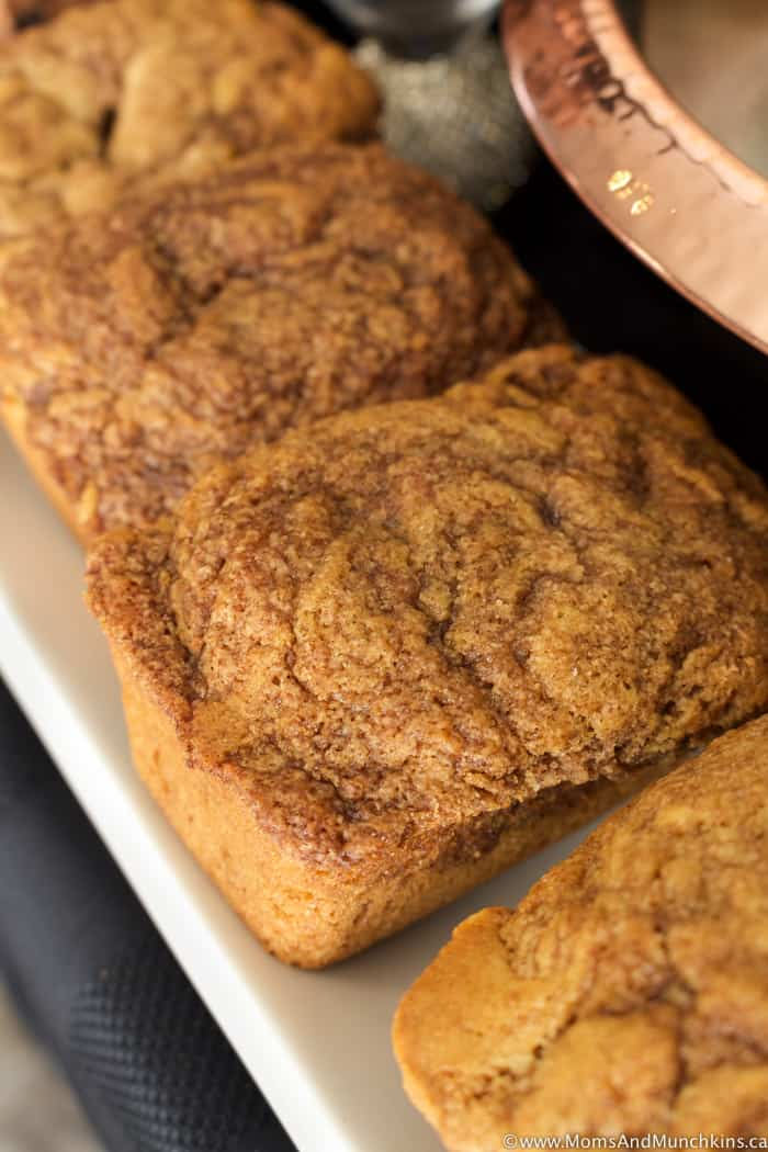 Mini Cinnamon Loaves Recipe