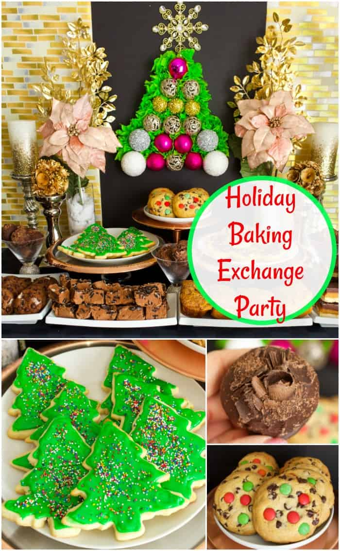 Holiday Baking Exchange Party Ideas