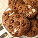 Peppermint Pattie Cookies