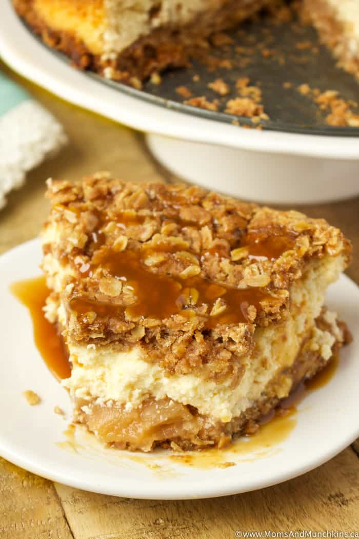 Apple Crisp Cheesecake Recipe