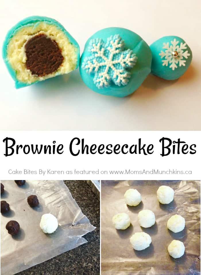 Brownie Cheesecake Bites Tutorial