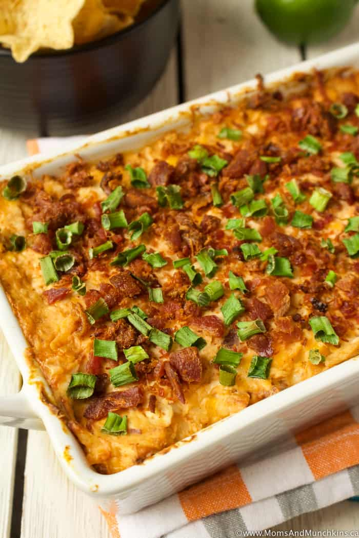 Hot Chicken Bacon Dip Recipe