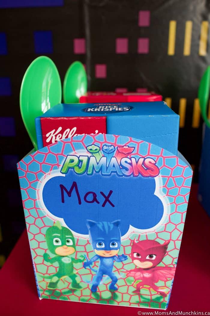 PJ Masks Party Ideas