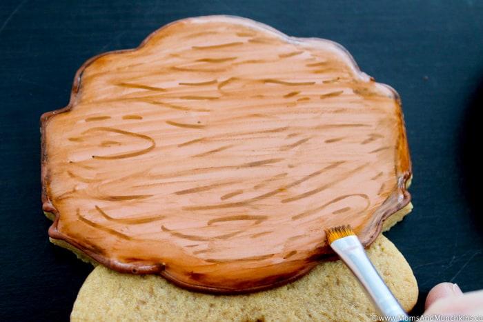 Winter Mittens Cookies Decorating Tutorial