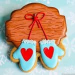 Winter Mittens Cookies Decorating Tutorial