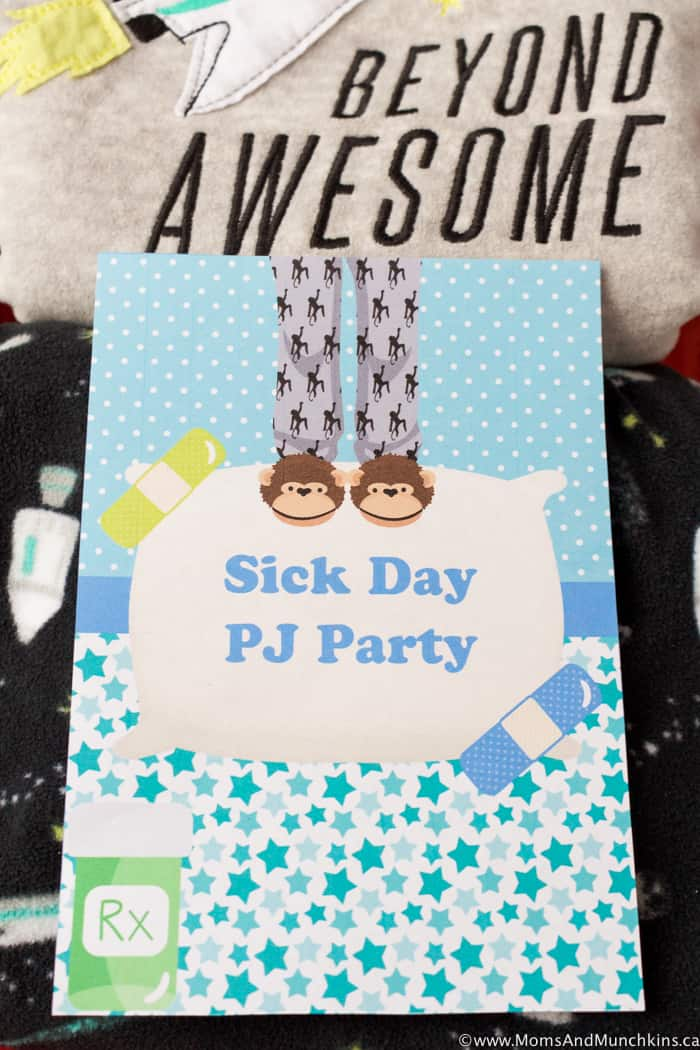 Sick Day PJ Party