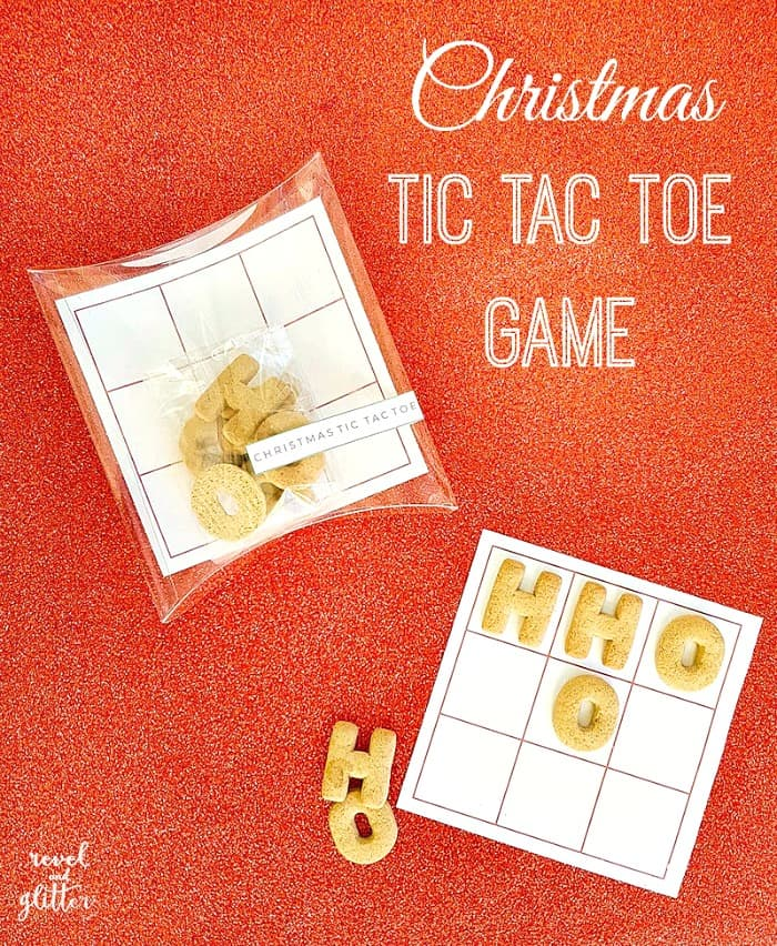 Christmas Tic Tac Toe Game Free Printable