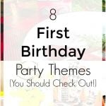 First Party Theme Ideas For Kids