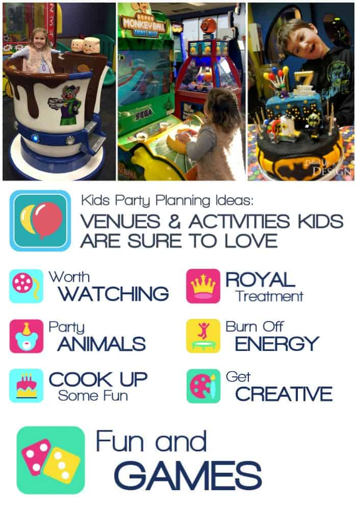 Kids Party Locations and Activities