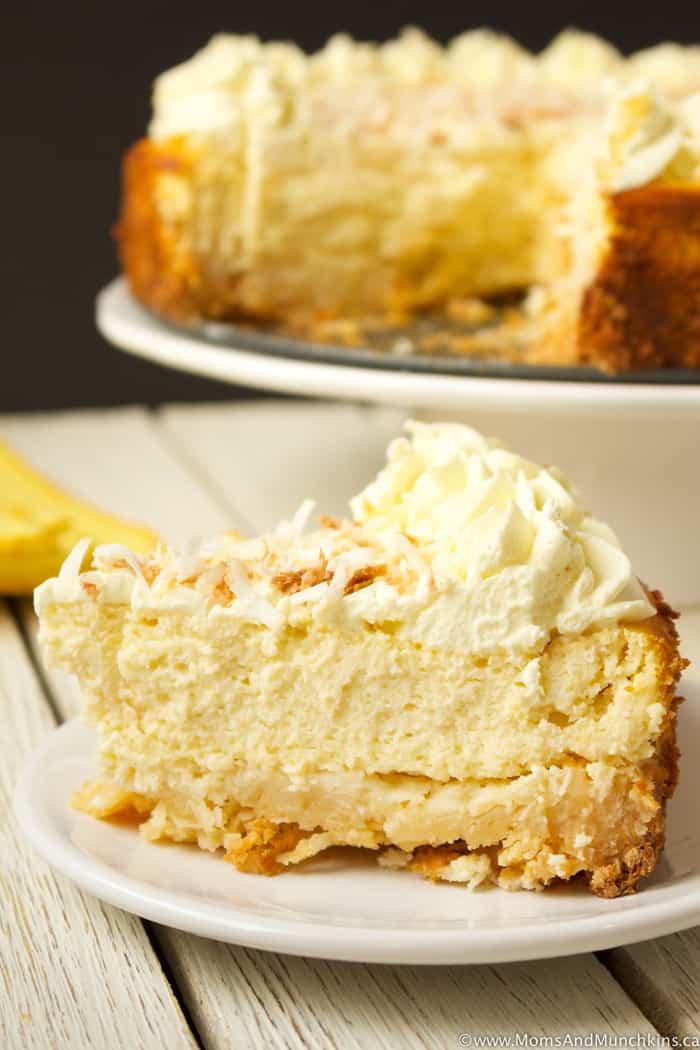 Lemon Coconut Cheesecake Recipe