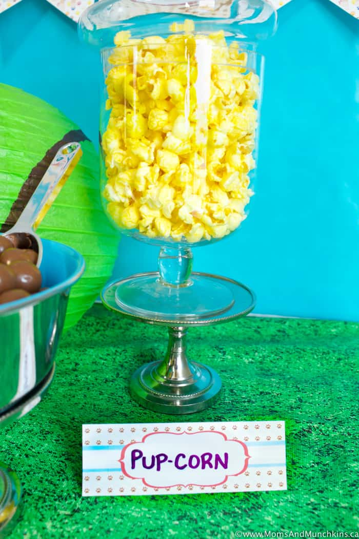 Puppy Pawty Ideas and Free Printables