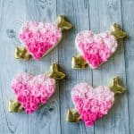 Rose Heart Cookies Decorating Tutorial