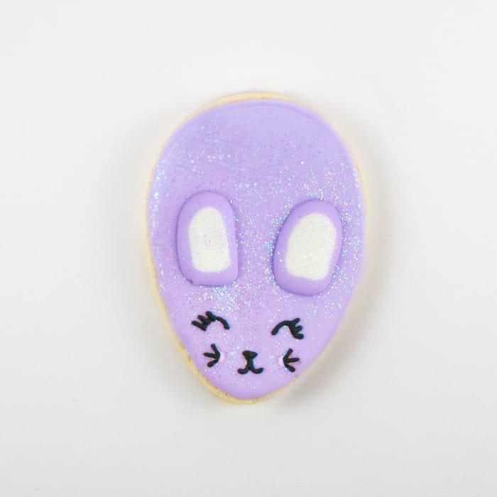 Easter Bunny Cookies Decorating Tutorials