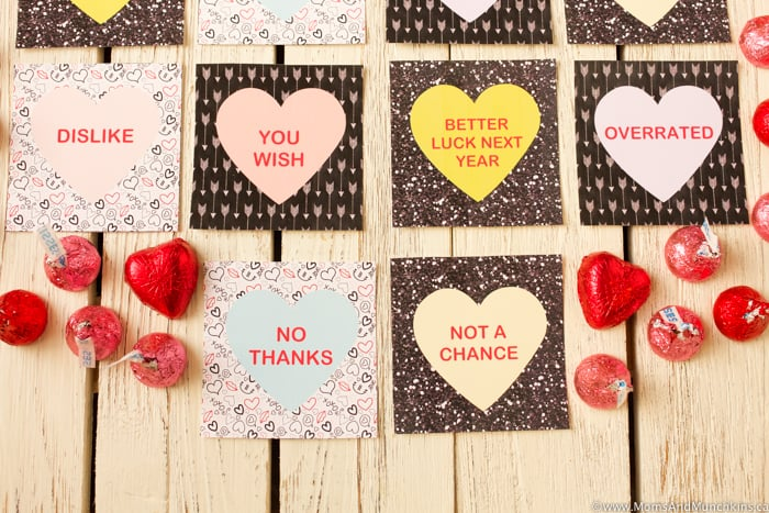 Anti-Valentine's Day Cards Free Printables