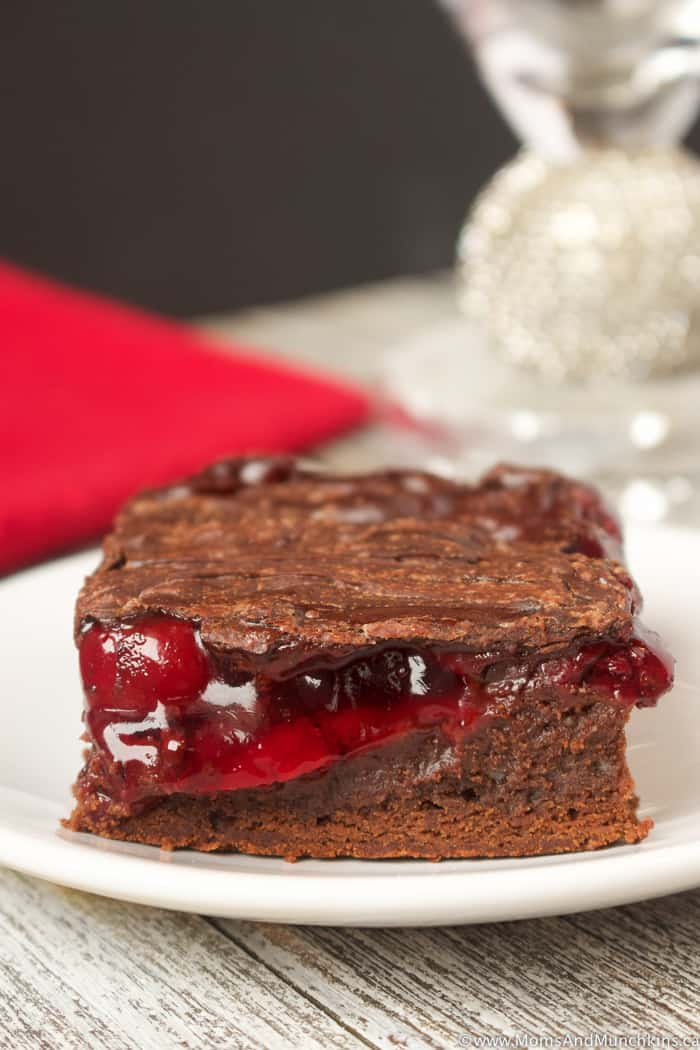 Chocolate Cherry Brownies Recipe
