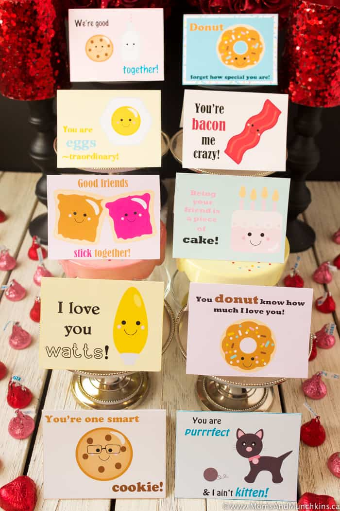 Punny Valentines - Free Printable