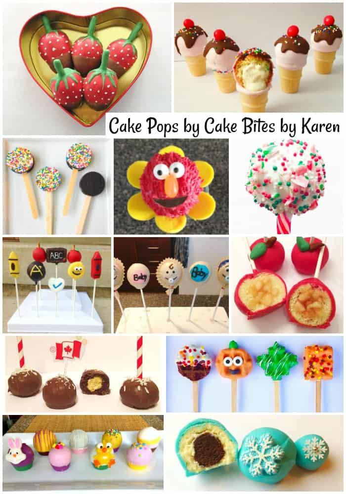 Cake Bites by Karen Cake Pops