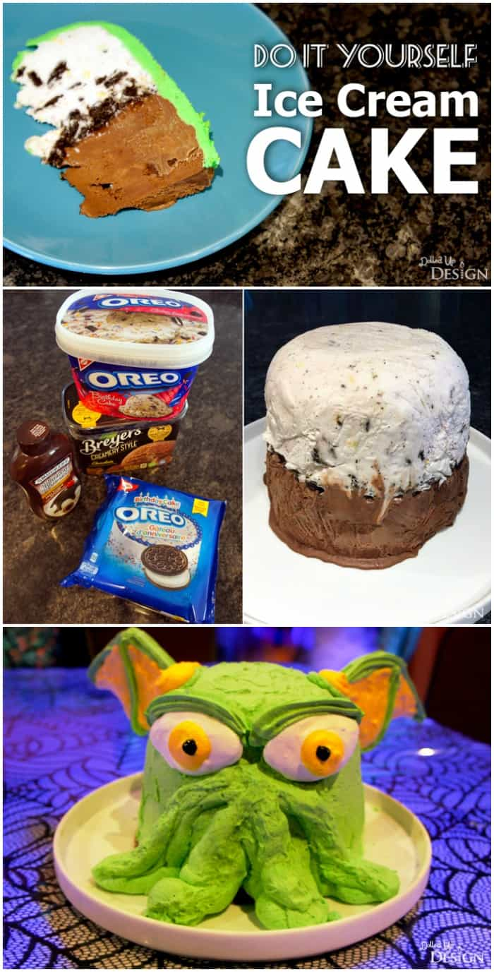 DIY Ice Cream Cake Recipe